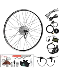 """36V350W28""""(700c)Roue Arrière avec Cassette e-bike Hub Motor Conversion kit"""