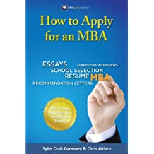 How to Apply for an MBA (English Edition)