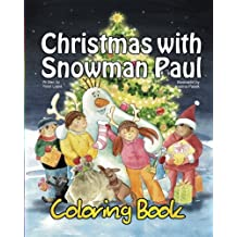 Christmas with Snowman Paul:Coloring Book (vol. 9): Volume 9