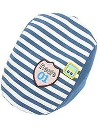 c9d9ad72eb14 YICHUN Bébé Enfant Béret Rayures Casquette Chapeau de Base-ball de Soleil  Bonnet(