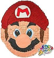 Pignatta Super Mario (pentolaccia, piñata) Gioco della pignatta per feste di compleanno per bambini. Prodotto