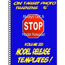 Model Release Templates! (On Target Photo Training Book 22) (English Edition)