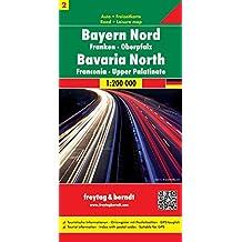 Bayern Nord - Franken - Oberpfalz, Autokarte 1:200.000, Blatt 2, freytag & berndt Auto + Freizeitkarten
