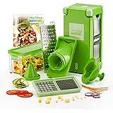 Genius Nicer Dicer Coupe-légumes Magic cube| Vert | 12pièces | de fruits et légumes