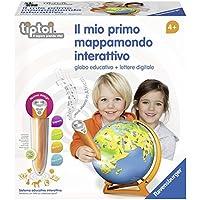 Ravensburger Italy Il Mio Primo Mappamondo Interattivo, 00795 0