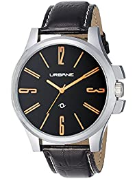 Urbane by Maxima Analog Black Dial Men's Watch - U-40740LAGI