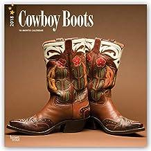 Cowboy Boots - Cowboystiefel 2018 - 18-Monatskalender: Original BrownTrout-Kalender [Mehrsprachig] [Kalender] (Wall-Kalender)