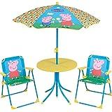 Fun House 712263 Set de jardín para niños, color amarillo, azul, 46 x 46 x 46 cm