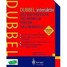 DUBBEL interaktiv: Das elektronische Taschenbuch für den Maschinenbau