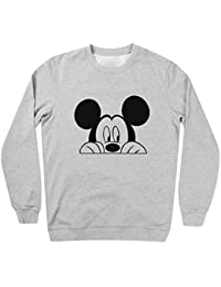 Mickey Mouse Looking For Dope Sudadera unisex