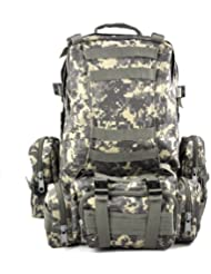 TOOGOO (R) 50L Mochila Militar Tactica para Senderismo Campamento al Aire Libre - AUC