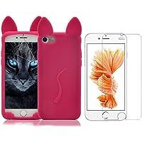 Cover iPhone 7 ,iPhone 7 Custodia (4.7), Bonice 3DCat Tail