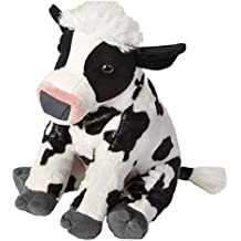 Wild Republic-16997 Peluche Vaca Cuddlekins, Color Negro/Blanco (16997)