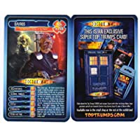 DOCTOR WHO 'RARE' DAVROS TOP TRUMPS CARD - ONLY AVAILABLE FOR A SHORT PERIOD AT THE DOCTOR WHO 'EARL'S COURT, LONDON' EXHIBITION