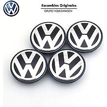 Ricambi Originale Volkswagen Copriomozzi (Golf 5, 6, Jetta, Passat CC...) - 4 pezzi