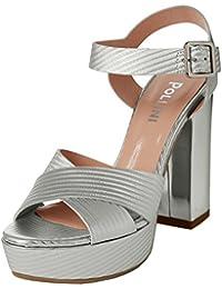9b44cdd9d4 Pollini Women s W.Sandal Ankle Strap Sandals