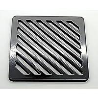 st/ärker 90/mm 9/cm rund massiv Metall Stahl Schlucht Grid Heavy Duty Ablauf Cover ROST wie Gusseisen