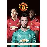 Manchester United Official 2019 Calendar - A3 Wall Calendar