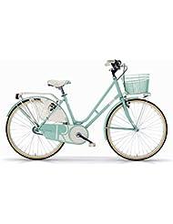 Bicicleta oldstyle MBM Riviera Mujeres con marco de acero - nuevo 2016 (Mint)
