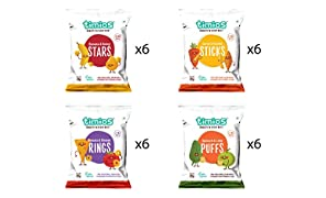 Timios Kids Party Pack | Healthy Snack for Kids | Natural Energy Food Product for Toddlers | Nutritious and Ready to Eat for Children 2+ Years Pack of 24