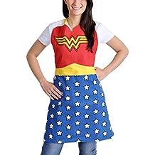 Wonder Woman vestito logo grembiule da cucina ufficiale dc comics justice league