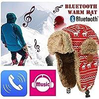 seraphicar Winter Warm Hat Bluetooth 5.0 Winter Warm Hat, Thickened Cotton Cap