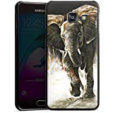 Samsung Galaxy A3 (2016) Housse Étui Protection Coque Éléphant Nature Dessin