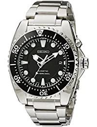 Seiko Men's SS Kinetic Watch SKA371