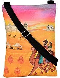 Eco Corner Women's Sling Bag (Multi-Coloured, 4003)