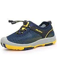 e133d62db8ff4 Chaussures de Randonnée Garçon Sandales Bout Fermé de Sport Ete de Marche  de Plage Respirant Enfants