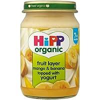 Hipp Organique Fruits Duo Mangue Et Banane Avec Du Yaourt 160G