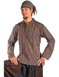 Camisa a rayas, camisa para hombre, camisa Kurta