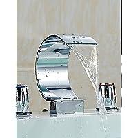 MEICHEN-FaucetWaterfall Chrome il lavandino del bagno Rubinetto