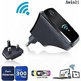 Wifi Router Répéteur Sans Fil Amplificateur à Longue Portée Amplificateur Sans Fil-N Mini Point d'accès AP 2.4GHz Network Signal Booster Routeur De Couverture Complet Conforme à WPS (300M)