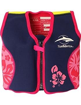 Konfidence - Chaleco natación, 4 - 5 años, Color Rosa (PL Ociotrends PL7000)