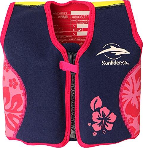 *Kinder Schwimmhilfe 6-7 Jahre pink/violett/gelb*