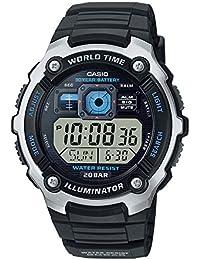 Casio Collection – Herren-Armbanduhr mit Digital-Display und Resin-Armband – AE-2000W-1AVEF