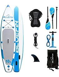 """Conjunto SUP tabla de surf de remo hinchable Bluefin 10'8"""" 327 cm x 15,2 cm"""