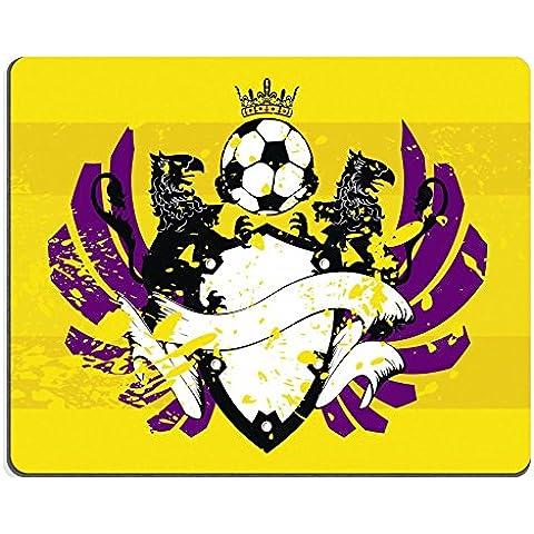 MSD Caucho Natural Gaming Mousepad imagen ID: 8915714Heraldic Fútbol Escudo de antecedentes