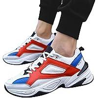 JiaMeng para Caminar, Zapatos De Running Deportivas para Correr Hombre Ocio Aire Libre Y Deporte Zapatillas Deportivas para Caminar al Aire Libre Zapatos atléticos cómodos
