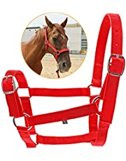 I-HERDSMAN Adjustable Headcollar for Horse Equestrian Horse Head Collar Halter Bridle Horse Riding Equipment Halter Horse Accessories