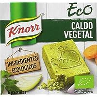 Knorr Eco Caldo Vegetal - Paquete de 15 x 60 g - Total: 900 g