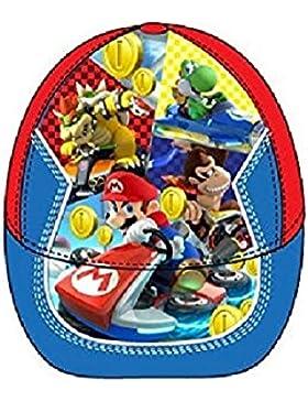 Gorra de Super Mario Kart roja talla 54