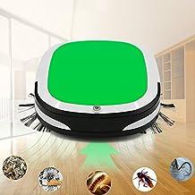 FuSon Aspirador automático, Touchless inteligente Mopping barrido máquina Herramienta de limpieza de casa, Ultra-fino inteligentes Anti-colisión Home Robot