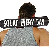 Schulter Unterst/ützung f/ür Gewichtheben Crossfit Powerlifting /& mehr passt 5,1/cm Olympischen Gr/ö/ße und eine Smith Maschine-Bar perfekt Dark Iron Fitness 43,2/cm Extra Dick Barbell Hals Pad