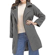 Cebbay Top Femme Manteau,Gilet Chaud Zipper Fluffy Parka Slim Sweater Épais Pull, Hiver Manche Longue Outwear Pullover Hauts Chemisier et Blouse