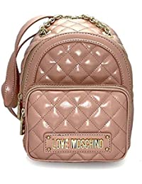 339818a3ed Love Moschino Women s Quilted Nappa Pu Backpack Handbag