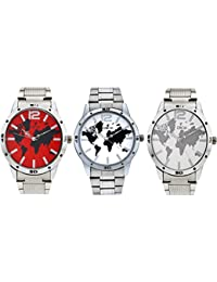 "Dice""DICE-0033"" Formal Round Shaped Wrist Watches for Men."