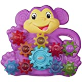 Playskool Toddler Toy - Stack n Spin Monkey Gears - Monkey around with Early Engineering