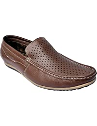 Loafer For Men Brown Colour Casual Shoes By Future Step